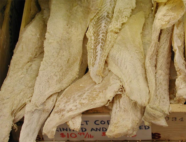 Eaton rapids joe a shortcoming of reason for Where to buy salted cod fish