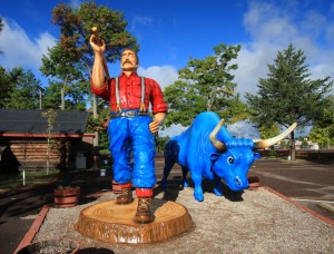 Paul Bunyan and Babe the Blue Ox (2)-L