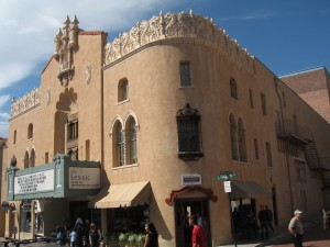 Lensic_Theater_Exterior_Santa_Fe_New_Mexico