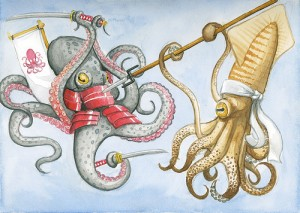 Octopus_vs._Squid