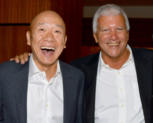 Larry Gagosian and Masa Takayama Host the Opening of Restaurant Kappo Masa